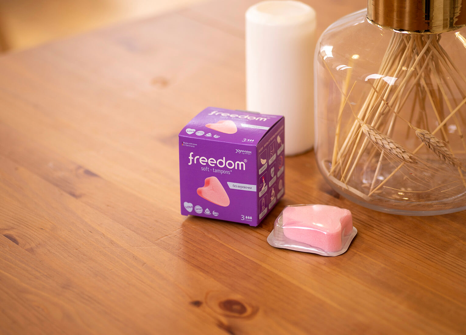 Freedom soft tampons от Joy Division
